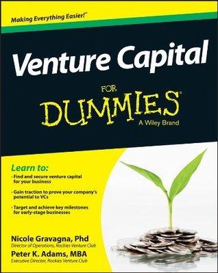 Venture Capital For Dummies Nicole Gravagna