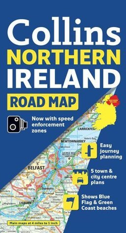 Collins Northern Ireland Road Map  by  Collins Publishers