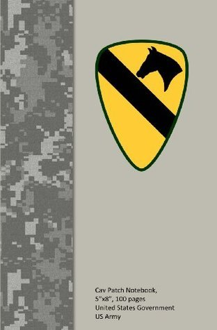 Cav Patch Notebook, 5x8, 100 Pages U.S. Army