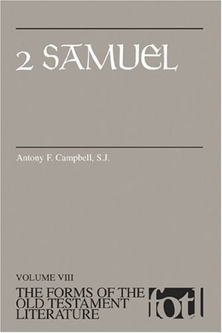 2 Samuel  by  Antony F. Campbell