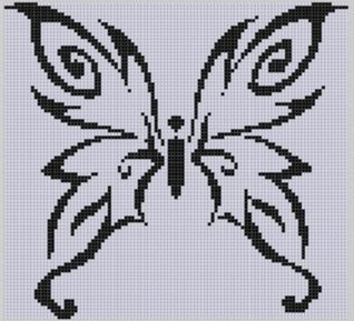 Butterfly 10 Cross Stitch Pattern  by  NOT A BOOK