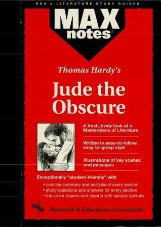 Jude the Obscure (MAXNotes Literature Guides) Lauren Kalmanson