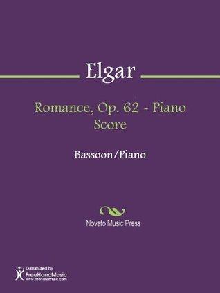 Romance, Op. 62 - Piano Score  by  Edward William Elgar