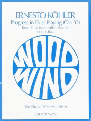 Progress in Flute Playing Op.33 Book 2 for solo flute  by  Kohler E.