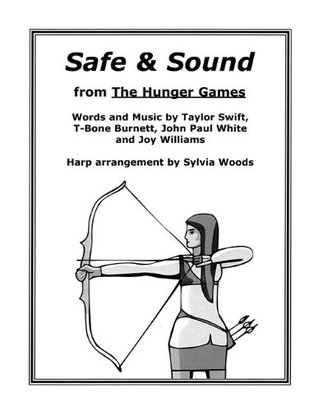 Safe & Sound from the Hunger Games: Arranged for Harp Sylvia Woods