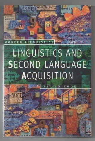 Linguistics And Second Language Acquisition Vivian Cook