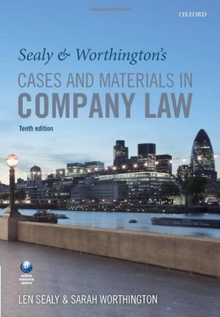 Sealy and Worthingtons Cases and Materials in Company Law  by  L S Sealy