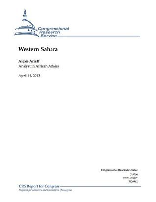 Western Sahara Alexis Arieff