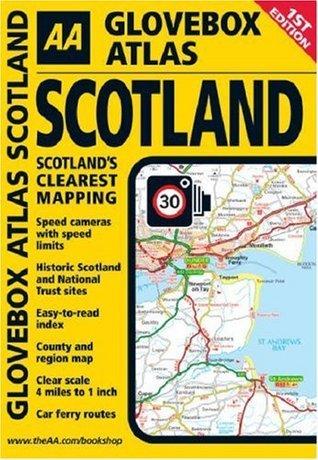 Glovebox Atlas Scotland  by  Automobile Association of Great Britain