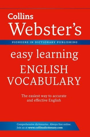 Collins Websters Easy Learning English Vocabulary.  by  Collins Publishers
