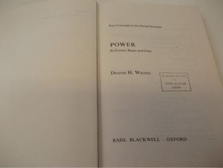 Power  by  Dennis Hume Wrong