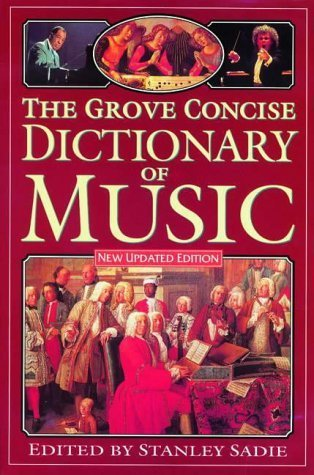 The Grove Concise Dictionary Of Music Alison Latham