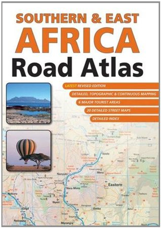 Southern & East Africa road atlas ms 1/1,5M Map Studio