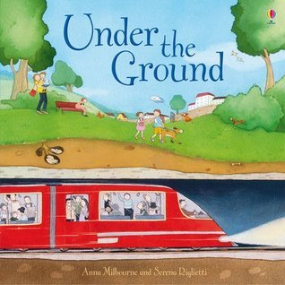 Under The Ground (Picture Book)  by  Anna Milbourne