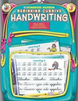 Beginning Cursive Handwriting, Grade 3  by  Frank Schaffer Publications