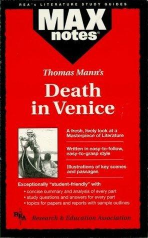 Death in Venice (MAXNotes Literature Guides) Boria Sax
