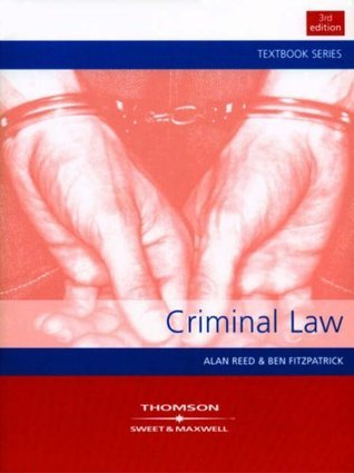 Criminal Law Alan Reed