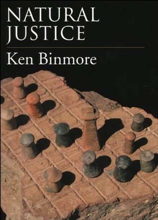 Natural Justice  by  Ken Binmore