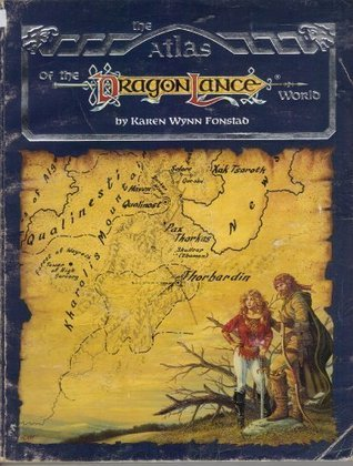 Atlas Of The Dragonlance World  by  Karen Wynn Fonstad