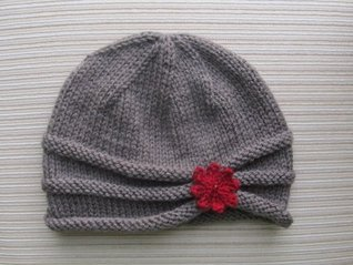 Rolled Brim Hat in Size Adult  by  Yelena Chen