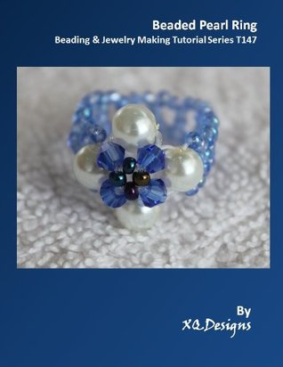 Beaded Pearl Ring Beading & Jewelry Making Tutorial Series T143  by  XQDesigns
