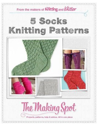 5 Socks knitting patterns  by  Future Publishing