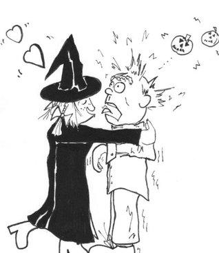 Witch Hazel Halloween Poem Art Marston