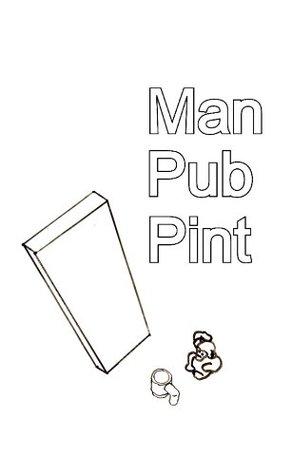 Man Pub Pint Drinking Man