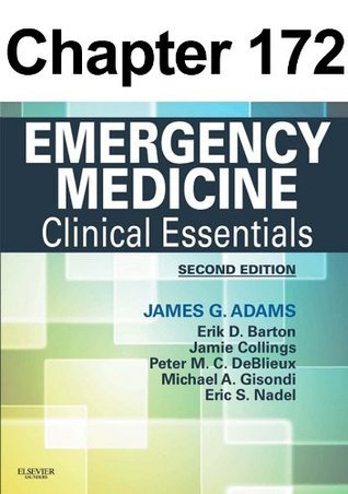 Sepsis: Chapter 172 of Emergency Medicine  by  James Adams