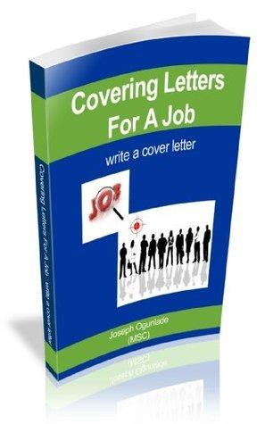 Covering Letters for a Job joseph Ogunlade