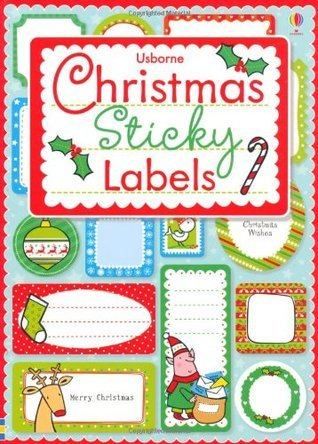 Christmas Sticky Labels  by  Lizzie Barber