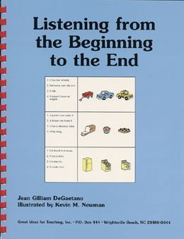 Listening from the Beginning to the End  by  Jean Gilliam DeGaetano