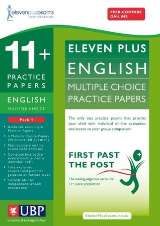 11+ English Multiple Choice Practice Papers: Pack 1 Educational Experts