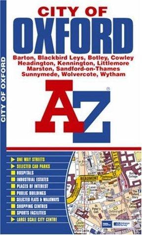 Oxford (City Of) Street Atlas Georgraphers A-z Map Company Ltd
