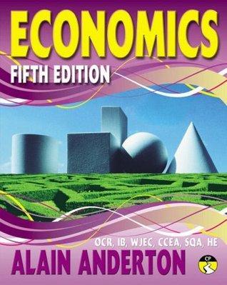 A Level Economics Student Book Alain Anderton