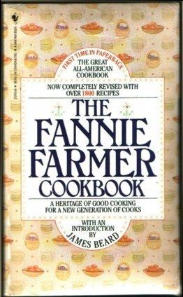 Fannie Farm Cookbook Marion Cunningham