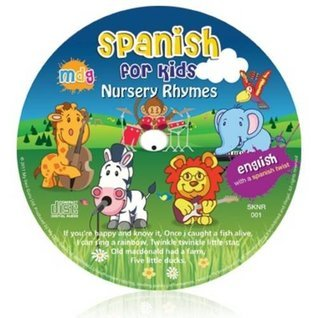 Spanish for Kids Nursery Rhymes - English with a Spanish twist Kids Learn Languages