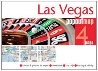 Las Vegas Popout Map  by  Popout Maps