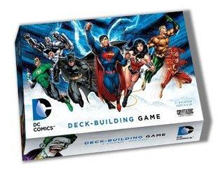 DC Comics Deck-Building Game Cryptozoic Entertainment