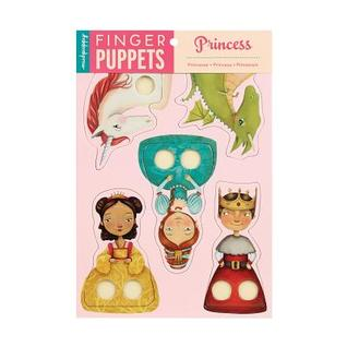 Princess Finger Puppets  by  Galison