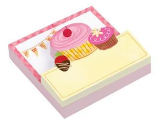 Cupcakes Shaped Memo Pads Talitha Shipman