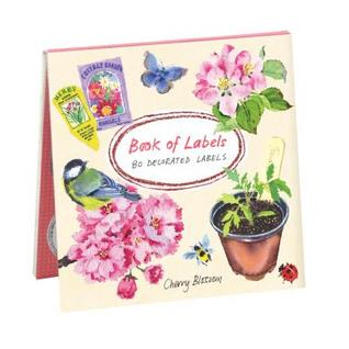 Cherry Blossom Garden Book of Labels  by  Mary Woodin