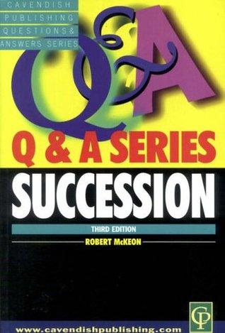 Succession Q&A 3/E  by  McKeon