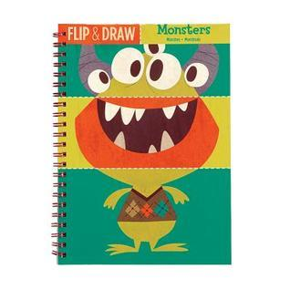 Monsters Flip and Draw Galison