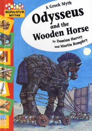 Odysseus and the Wooden Horse. Damian Harvey and Martin Remphry by Damian Harvey