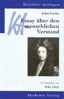Essay uber den Menschlichen Verstand  by  John Locke