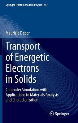 Transport of Energetic Electrons in Solids: Computer Simulation with Applications to Materials Analysis and Characterization Maurizio Dapor