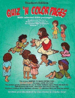 Teachers Edition Bible ABC Quiz n Color Pages: Teachers Resource Manual MR Dan Peeler