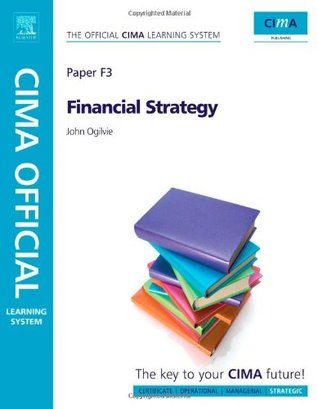 Cima Mobile Phone App - Financial Strategy  by  John Ogilvie