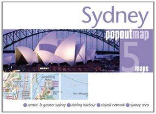 Sydney Popout Map  by  Popout Maps